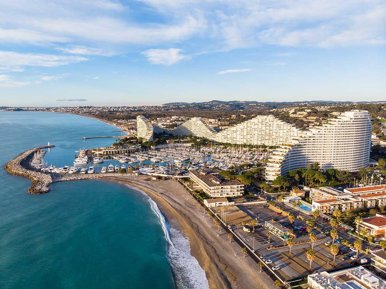 Prenez de la hauteur avec mes photos de la Côte d'Azur