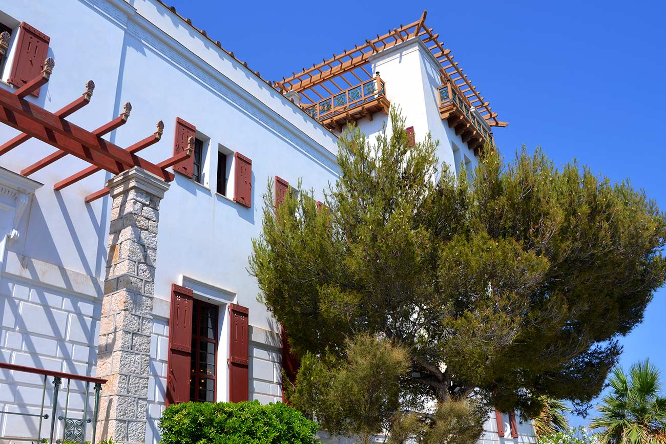 La Villa Kérylos monument historique de la Côte d'Azur